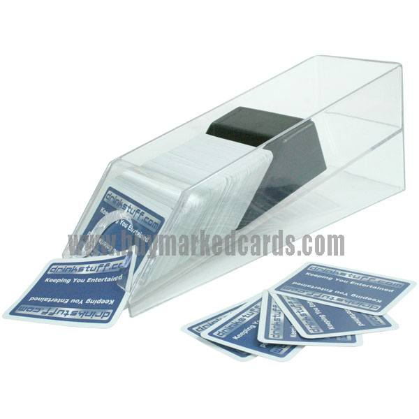marked cards, scanning camera, playing cards games, 6-deck blackjack shoe
