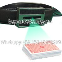 belt spy camera with poker cards tricks