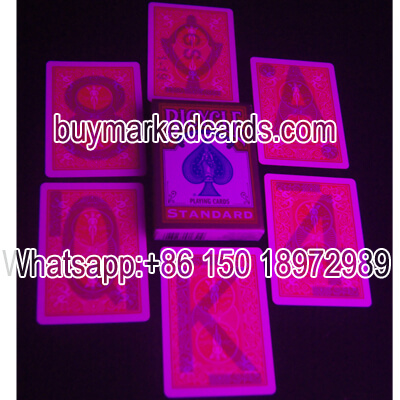 Luminous Bicycle Marked Cards