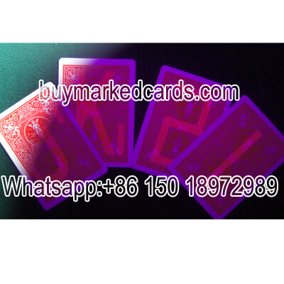 Bicycle plastic magic marked cards