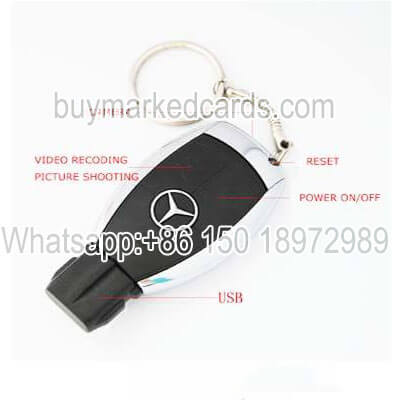 Car keys poker scanning camera