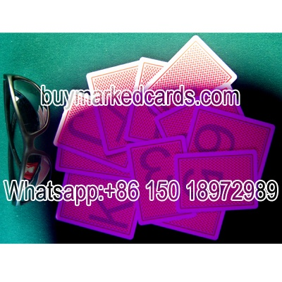 Texas Holdem marked cards