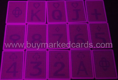 texas hold'em marked cards