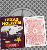 Dal Negro Texas holdem marked cards