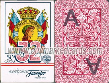 fournier No.12 marked cards