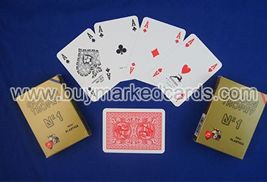 Modiano marked cards