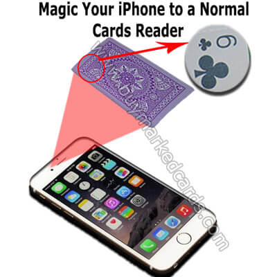 iPhone 6 normal playing cards reader