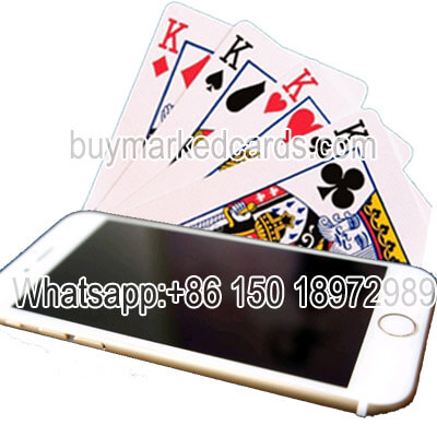 iPhone 6 poker normal cards exchanger