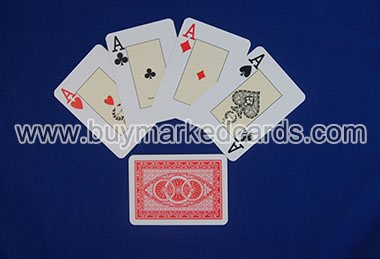 Modiano da vinci marked cards