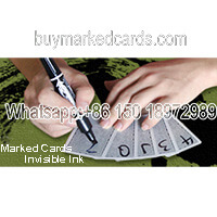 mark cards with excellent black light invisible ink