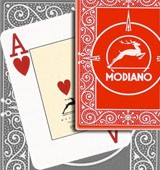Modiano Black Jack marked cards