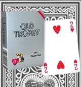 Modiano Old Trophy marked cards