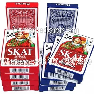 Modiano Skat marked cards