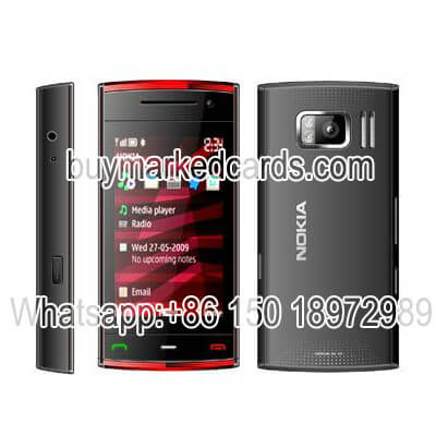 Nokia X6 hiden spy scanning camera