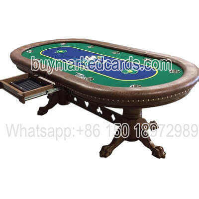 Perspective Poker Table