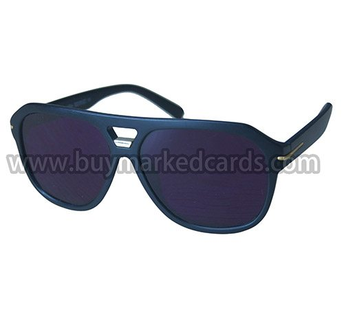 Sunglasses for marked cards