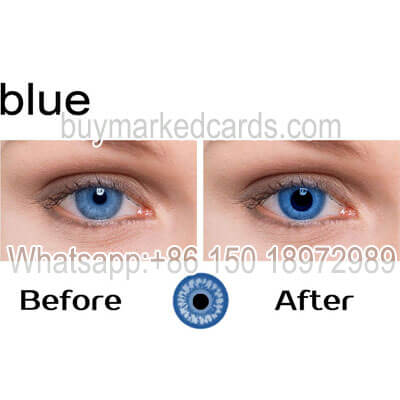 Blue eyes cheat lenses