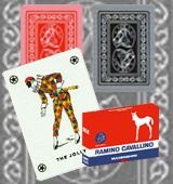 Dal Negro Masenghini Ramoni Cavallino marked cards