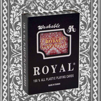 Royal invisible ink marked cards