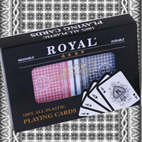 Luminous Ink Royal Playing Cards