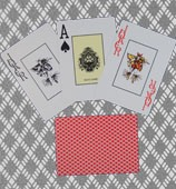 marked cards, texas holdem