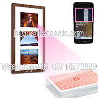 wall picture poker scanner for bar code uv invisible ink cards